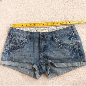 Jean shorts EUC
